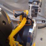 通勤用バイク(クロスカブ)にドライブレコーダー(アクションカメラ)を取り付け その2