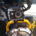 通勤用バイク(クロスカブ)にドライブレコーダー(アクションカメラ)を取り付け その1