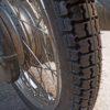 タイヤ交換5回目。やはり踏みつける方法が一番楽